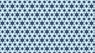 Blue Star Background Pattern Design