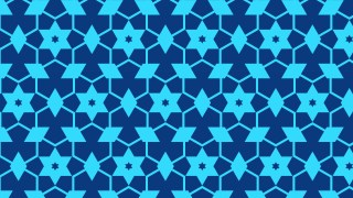 Blue Stars Pattern Illustrator