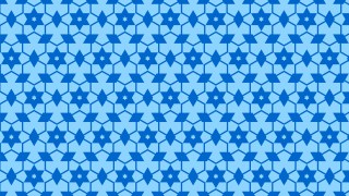 Blue Stars Pattern Background Vector Illustration