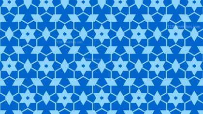 Blue Stars Background Pattern Vector