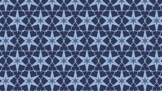 Dark Blue Seamless Stars Background Pattern Illustration