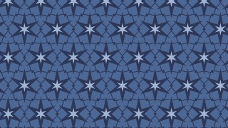 Dark Blue Star Pattern Background