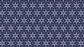 Dark Blue Stars Pattern Background