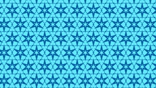 Blue Stars Pattern Graphic