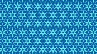 Blue Stars Pattern Background Illustration