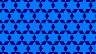 Royal Blue Seamless Stars Pattern Background Vector Graphic