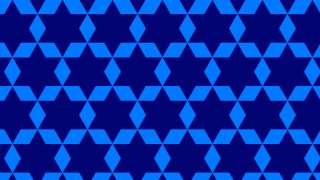 Royal Blue Seamless Stars Background Pattern Vector Image