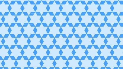Light Blue Star Pattern