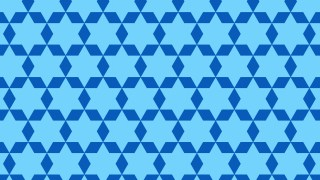 Blue Star Background Pattern