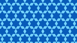 Blue Seamless Star Pattern