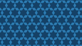Dark Blue Seamless Star Background Pattern