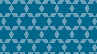 Blue Stars Pattern Background