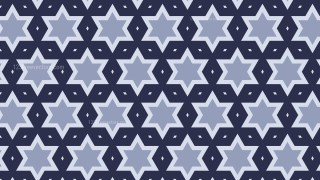 Dark Blue Stars Background Pattern