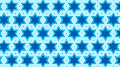 Blue Star Pattern Background Vector Art