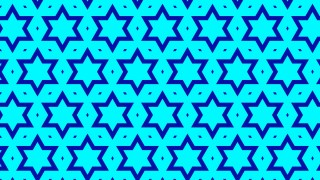 Turquoise Star Background Pattern Graphic