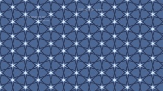 Dark Blue Seamless Star Pattern Background