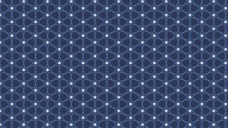 Dark Blue Stars Pattern