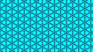 Turquoise Seamless Star Pattern Background Illustrator