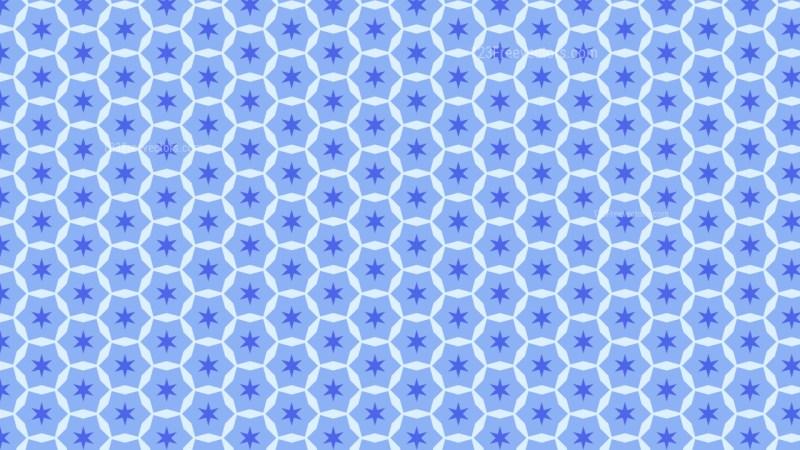 Blue Stars Background Pattern Graphic