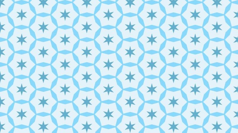 Light Blue Seamless Stars Background Pattern Image