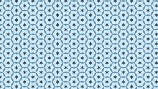 Light Blue Star Pattern Background