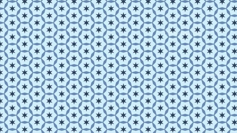 Light Blue Star Pattern Background