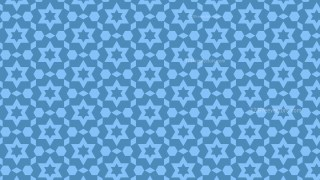 Blue Star Background Pattern Vector