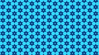 Blue Star Pattern