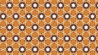 Brown Seamless Star Background Pattern