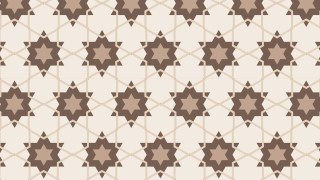 Light Brown Star Pattern Graphic