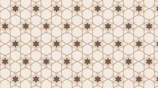 Light Brown Star Background Pattern Design