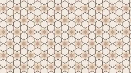 Light Brown Seamless Star Pattern Image