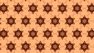 Brown Stars Pattern Illustrator