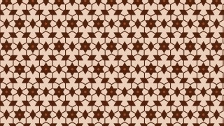 Brown Star Pattern Vector Graphic
