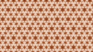 Brown Star Pattern Background Vector Image