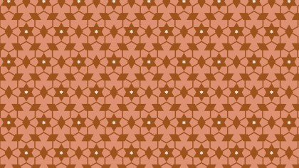 Brown Stars Pattern Graphic