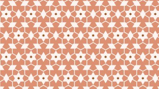 Brown Stars Pattern Background Illustration
