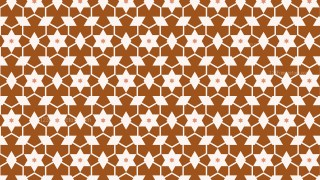 Brown Seamless Stars Pattern Image