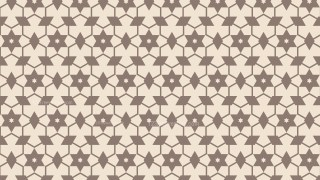 Light Brown Seamless Star Background Pattern