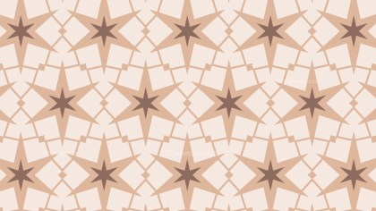 Light Brown Star Pattern Background Vector Art