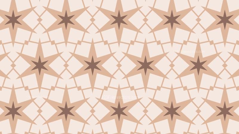 Light Brown Star Pattern Background Vector Art