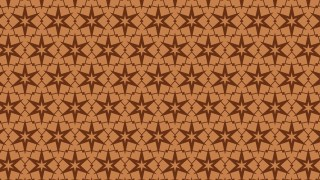 Brown Star Background Pattern Graphic
