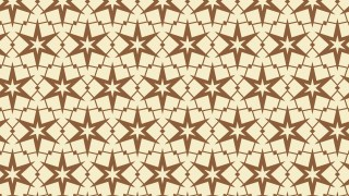 Brown Stars Background Pattern Illustrator