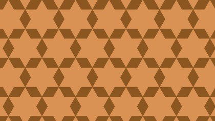 Brown Stars Pattern