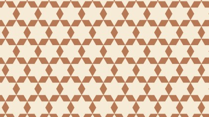 Brown Stars Background Pattern