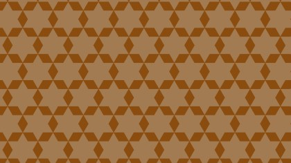 Brown Star Pattern Design
