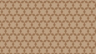 Brown Star Background Pattern Vector Graphic