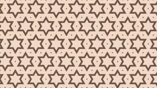 Brown Seamless Stars Pattern Background Design