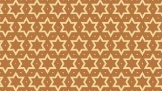 Brown Seamless Star Pattern