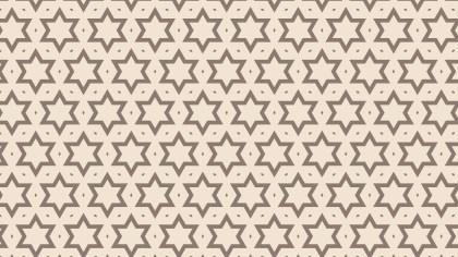 Light Brown Stars Pattern